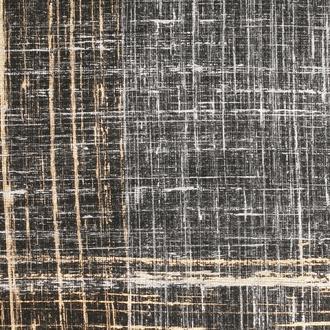 Feuille décorative imprimé artist noir