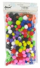 Achat en ligne 300 Pompons tailles et couleurs assorties