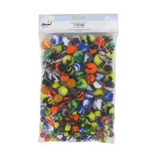 Set de 200 pompons tricolores