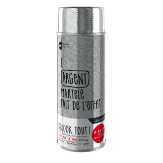 Peinture aérosol mat argentée Relook tout en bombe 400ml