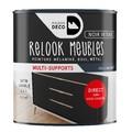 Peinture pour meuble noire Relook meuble en pot 0,5l