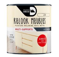 Achat en ligne Peinture pour meuble lin Relook meuble en pot 0,5l