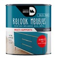 Peinture pour meuble bleu paon Relook meuble en pot 0,5l