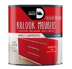 Achat en ligne Peinture pour meuble rouge profond Relook meuble en pot 0,5l