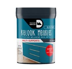 Achat en ligne Peinture pour meuble bleu paon Relook meuble en pot 0,2l