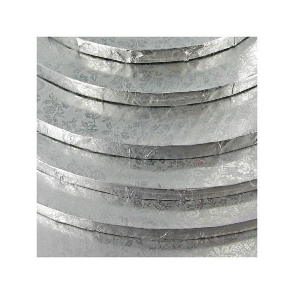 Cerchio argentato 35cm