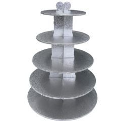 compra en línea Bandeja expositora 5 niveles para pasteles de aluminio Gatodeco