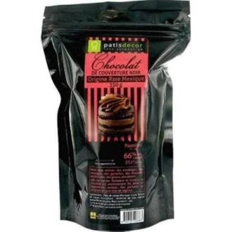 Chocolat de couverture noir du mexique en pistoles 250g