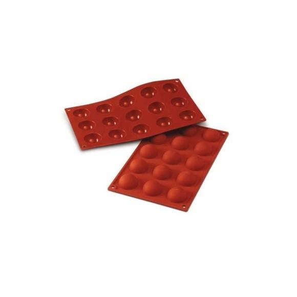 Stampo per 15 mezze sfere Siliconflex 4cm
