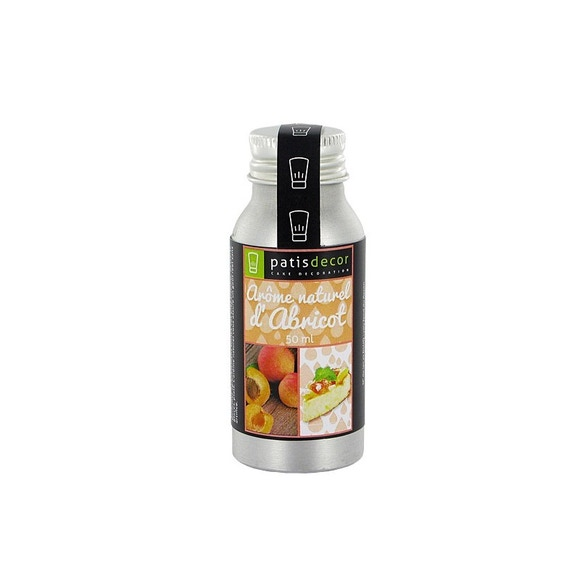 Achat en ligne Arôme naturel abricot 50ml
