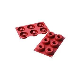 Moule pour 6 donuts Siliconflex