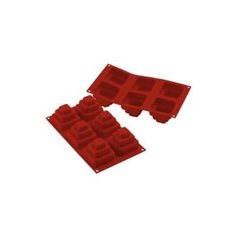 Moule pour 6 mini wondercakes Siliconflex