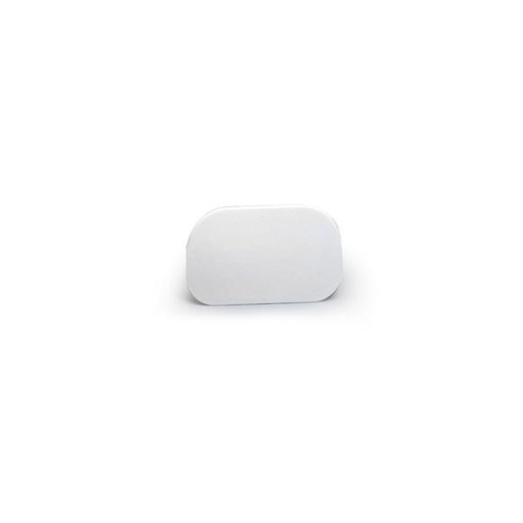 Achat en ligne Corne arrondi souple plastique blanc 145*95mm