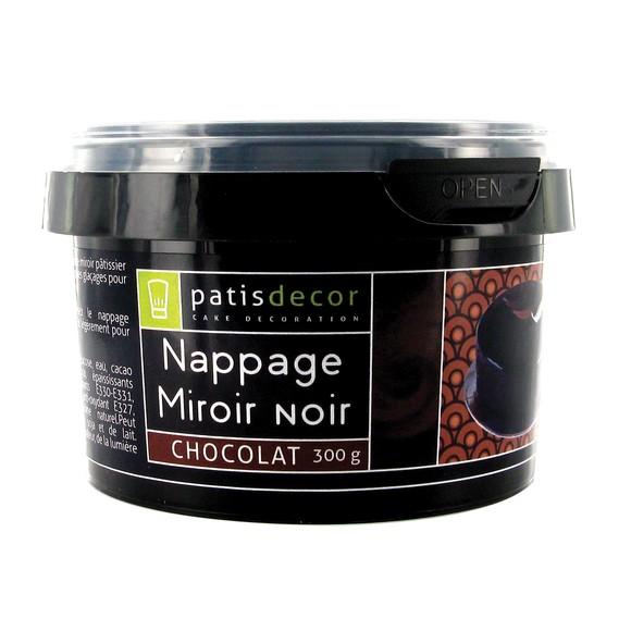 Glaçage miroir au chocolat en pot 300g