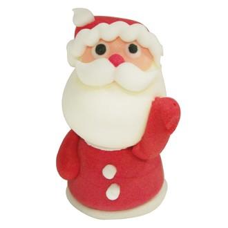 PATISDECOR - sujet comestible sucre père Noël  main levée