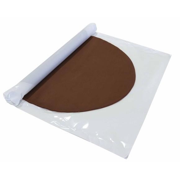 compra en línea Fondant listo para usar de chocolate marrón Patisdecor (430 gr)