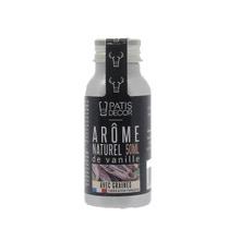 Achat en ligne Arôme naturel de vanille avec graines 50 ml