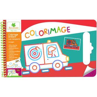 Colorimage brillant les transports 24 pages