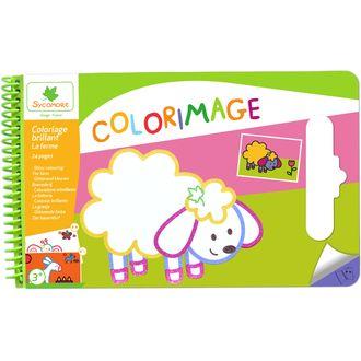 Colorimage brillant la ferme 24 pages