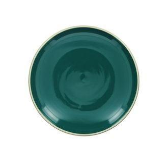 Assiette plate paon brillant 26 cm