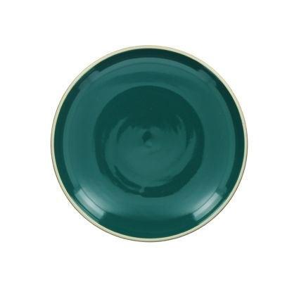 Achat en ligne Assiette plate paon brillant 26 cm