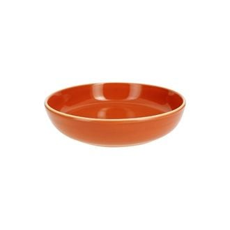 Assiette calotte terracota brillant 19 cm