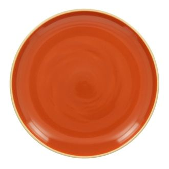 Assiette plate terracota brillant 26 cm