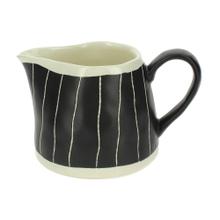 Achat en ligne Pot à sucre imprimé ligne noir et beige Mea 20cl