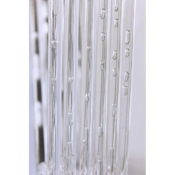 Achat en ligne Set de 6 cintres en acrylique translucide