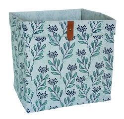 Achat en ligne Panier de rangement motif fleurs 31x31x31cm