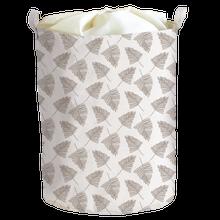 Achat en ligne Panier à linge motif sapin avec housse 40x40x50cm