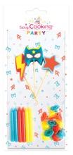 Achat en ligne Set de 15 bougies super héro
