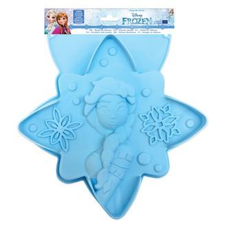 SCRAPCOOKING Moule gâteau Reine des neiges silicone bleu