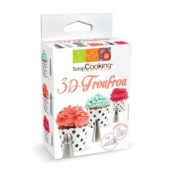 compra en línea Juego de boquillas de repostería 3D Frúfrú