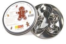 Achat en ligne Set 3 emporte-pièces bonhomme pain d'épices 7/9/11,5cm