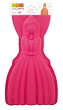 Achat en ligne Moule 3D princesse en silicone 35x17cm