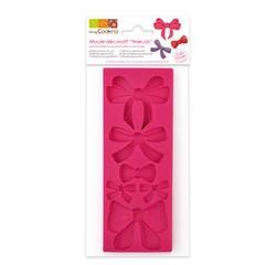 acquista online Stampo nodi per pasta di zucchero in silicone 16x6x0,8cm