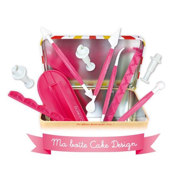 Kit di utensili per pasta di zucchero decorazione torte