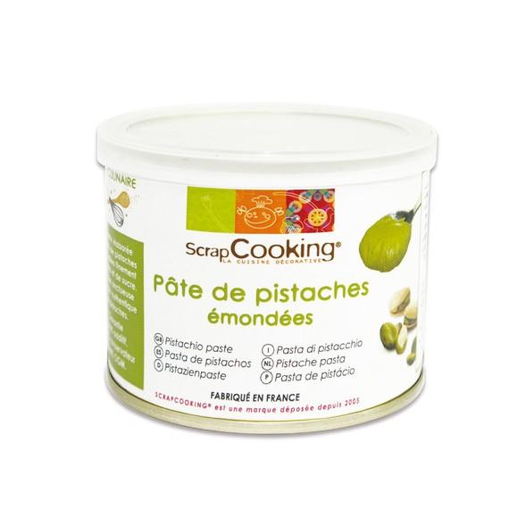 Pâte de pistaches émondées en pot 200g