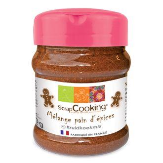 Scrapcooking - mélange pour pain d'épices en pot 70g