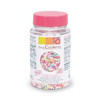 Minibilles multicolores en sucre en pot 80g