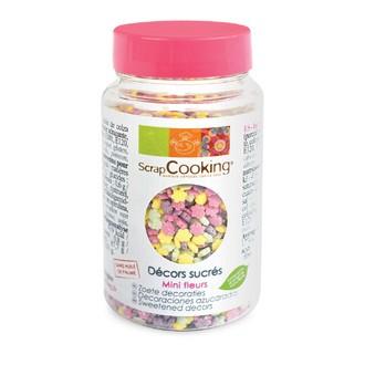 SCRAPCOOKING - Fleurs assorties en sucre en pot 55g