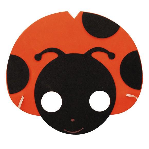 Masque coccinelle enfant