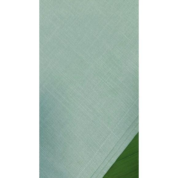 Tovaglia antimacchia rettangolare in cotone, azzurro, 150x250 cm