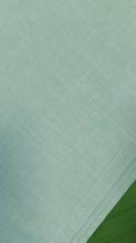 Achat en ligne Nappe antitache 150x150cm en coton ciel Slub