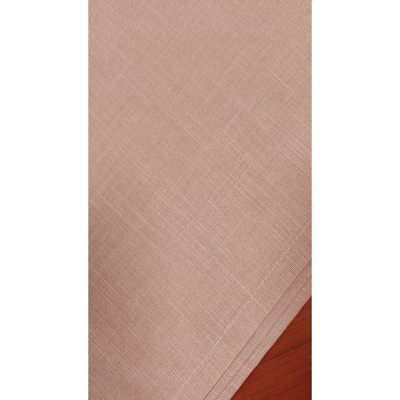 Tovaglia antimacchia quadrata in cotone, rosa, 150x150 cm