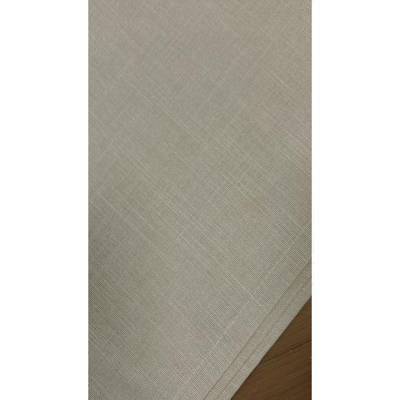 Tovaglia antimacchia rettangolare cotone fiammato beige 150x250cm