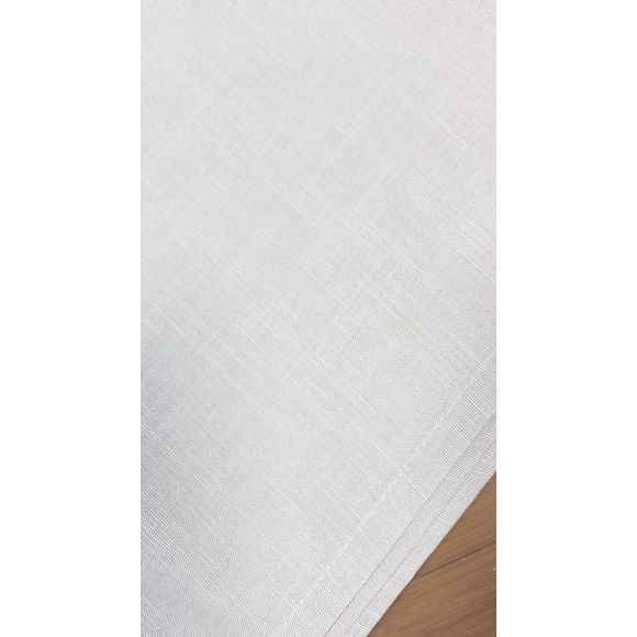 Tovagliolo antimacchia in cotone fiammato, bianco,45x45 cm