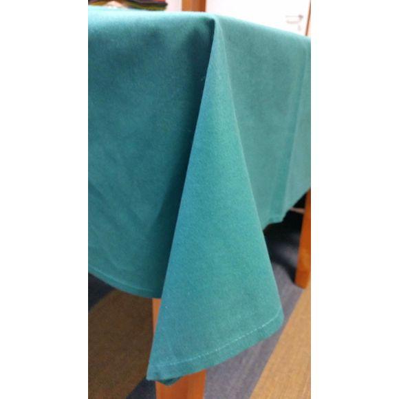 Tovaglia antimacchia rettangolare in cotone blu 150x200 cm