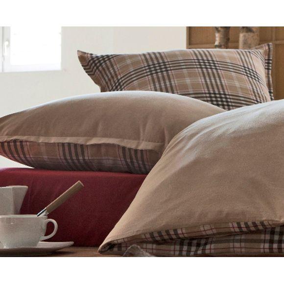 acquista online Federa in tessuto chambray 50x70cm